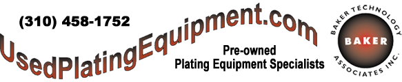 Used Plating Equipment Logo